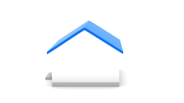 vídeos de stock e filmes b-roll de imóveis para venda - isolated house, exterior