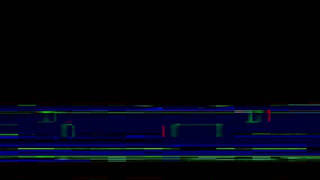 リアルグリッチ移行システムエラーデジタルエラー - スタイリッシュ点の映像素材/bロール
