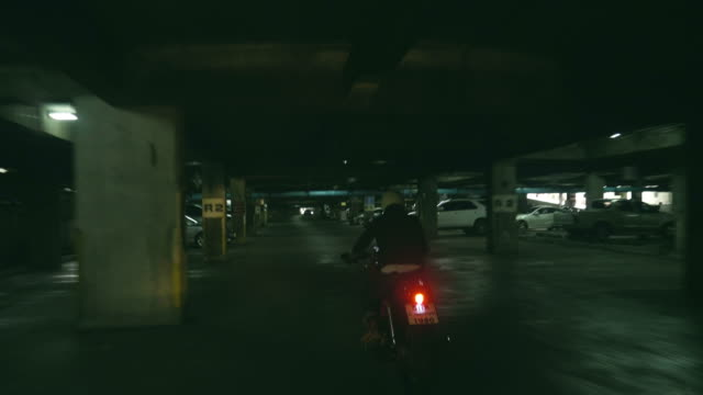 Real Life : Man driving on his motorcycle