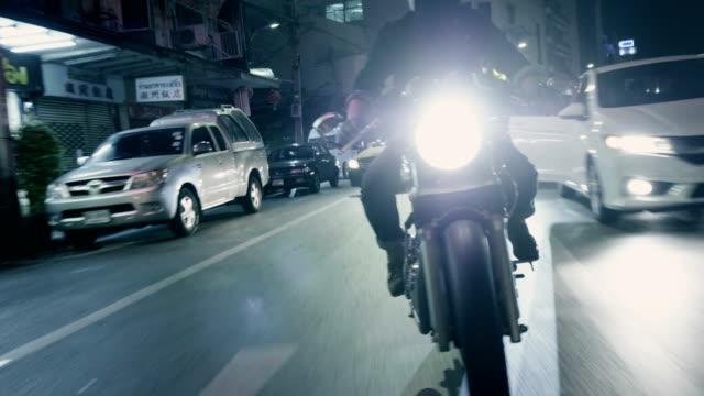 Real life : Motorcycle at chinatown