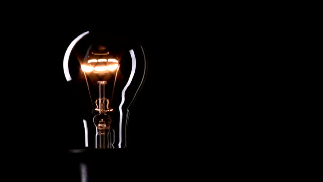 real light bulb - idea stock videos & royalty-free footage