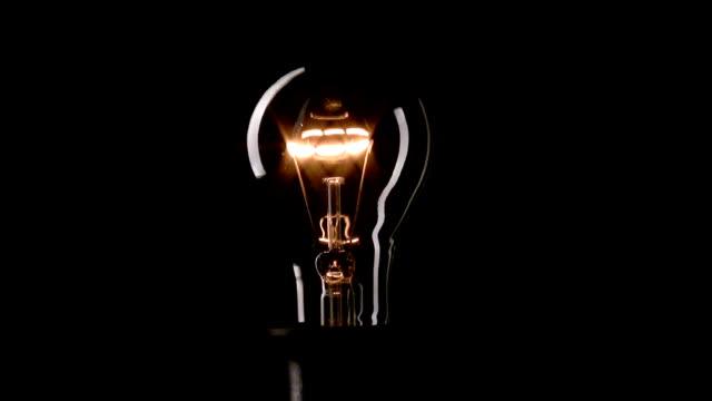 Video Real light bulb