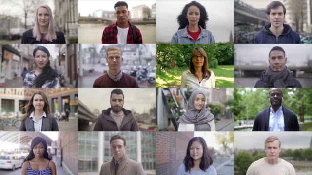 Real people video portraits