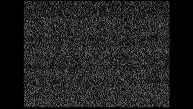 Real record old television static noise (4:3 aspect ratio) video