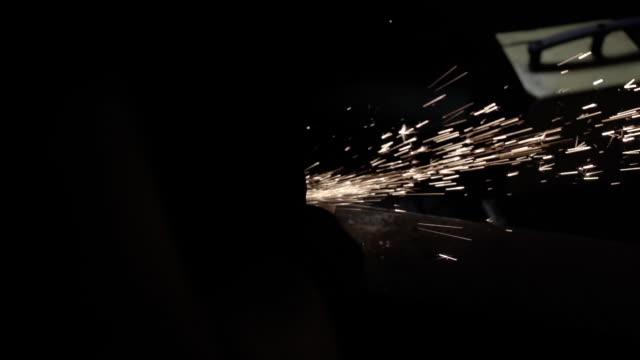 Echte glitzernden Partikel im Dunkeln – Video