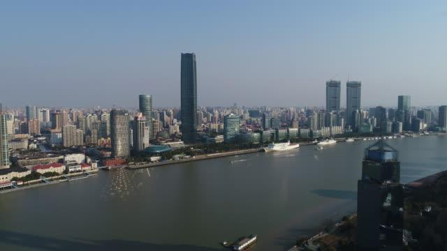 Real time Shanghai Skyline video