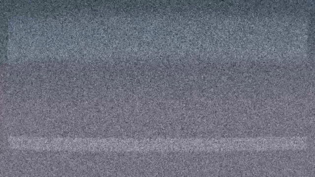 Real TV Screen Static Noise video