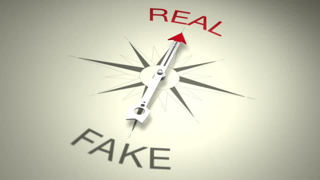 Real Versus Fake video