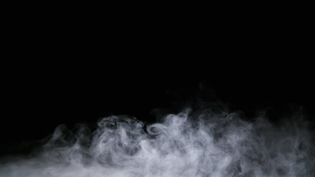 vídeos y material grabado en eventos de stock de superposición de niebla de las nubes del humo realista hielo seco - nieve amontonada