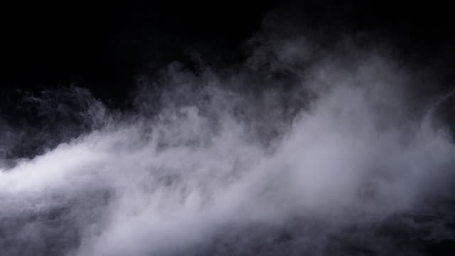 Realistic Dry Ice Smoke Clouds Fog