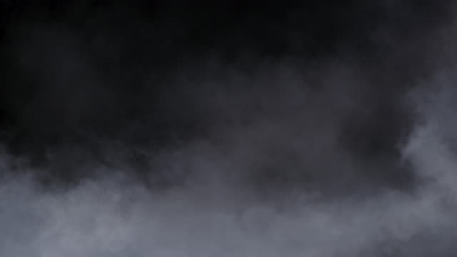 realistic dry ice smoke clouds fog - smog video stock e b–roll