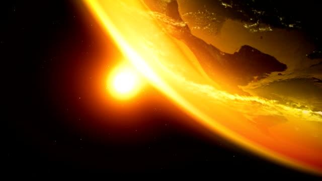 realistyczne ziemi v2 - venus filmów i materiałów b-roll