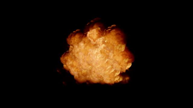 Realistic Explosion + Alpha video