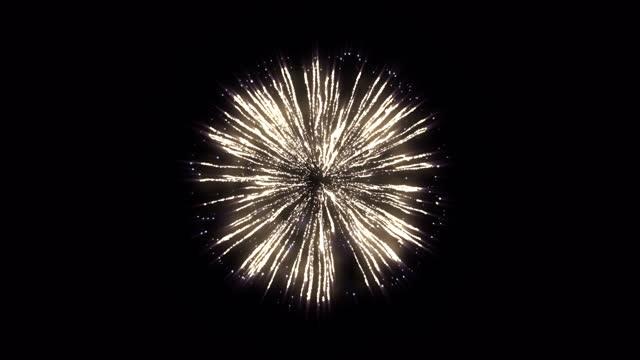 реалистичный праздничный фейерверк, альфа-канал, цикличен (серия) - fireworks стоковые видео и кадры b-roll