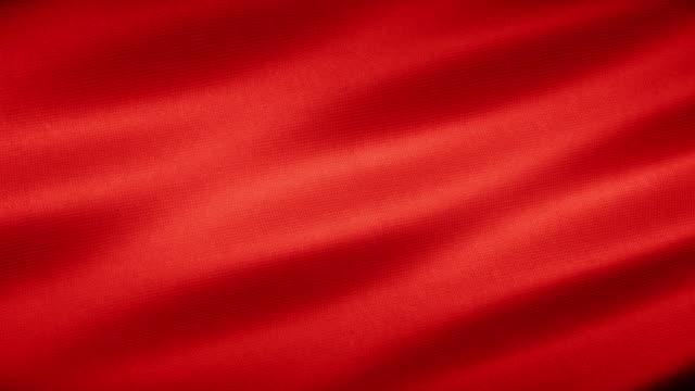 vídeos y material grabado en eventos de stock de realista realista tela roja textil textura sin costuras loop fondo - tul textil