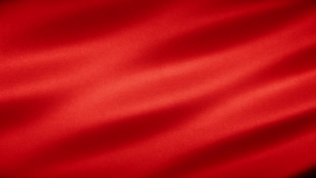 vídeos de stock e filmes b-roll de realistic realistic red fabric textile texture seamless loop background - tule têxtil