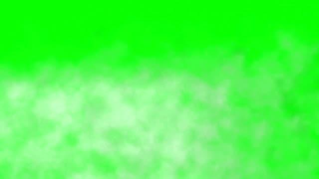 Realistic Smoke Clouds Fog Green Box