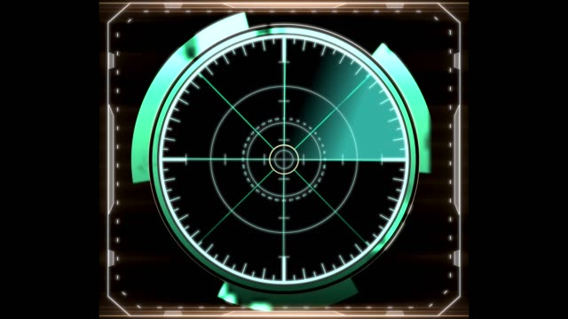 Rear sight in a distorted frame spinning and producing light on a black background. Mashinery. Rear sight in a distorted frame spinning and producing light on a black background. navigational compass stock videos & royalty-free footage