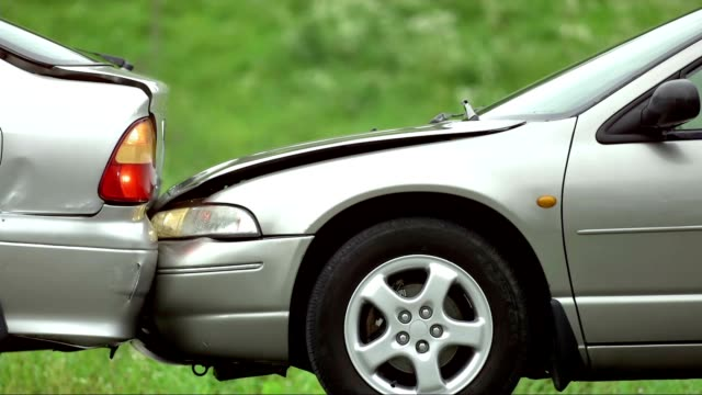 SLO MO Rear-end Collision