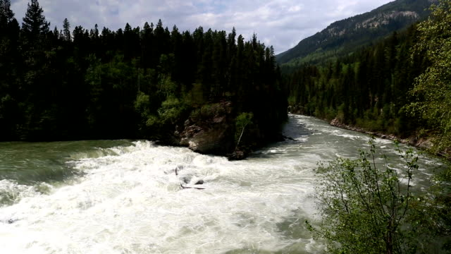 Rearguard Falls Provincial Park Rearguard Falls Provincial Park is a provincial park in British Columbia, Canada, protecting Rearguard Falls on the Fraser River. It is located just above its emergence into the Rocky Mountain Trench near the community of Tete Jaune Cache. fraser river stock videos & royalty-free footage