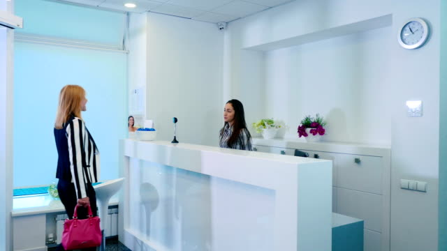 Reception in Cosmetology Clinic video