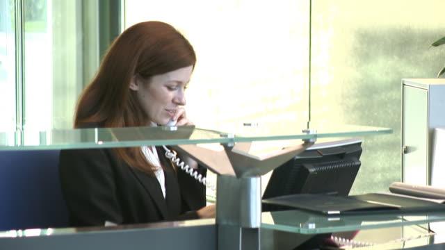 Receptionist video