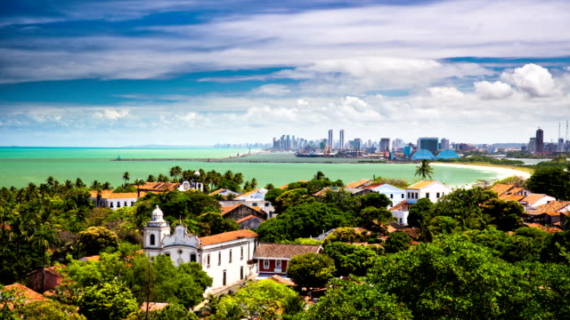 TIME LAPSE: Recife and Olinda Brazil video