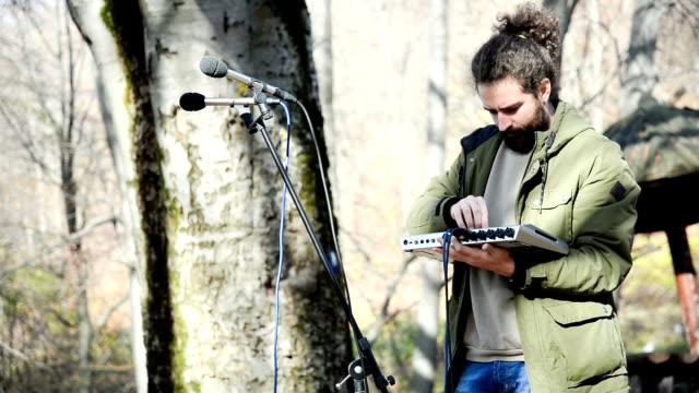Recording audio sounds video