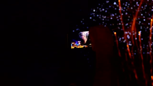 recording Fireworks with mobile