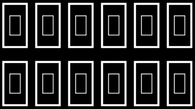 Rectangle Panel Marquee Loop Matte video