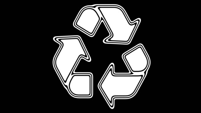 vídeos de stock e filmes b-roll de recycle - teeshirt template