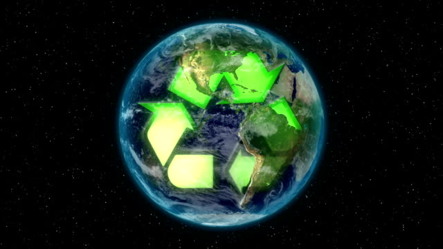 Recycling the world. video