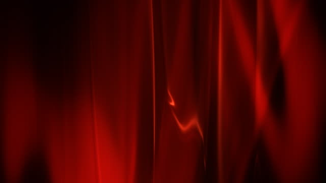 Red abstract silk video