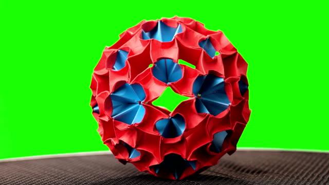 Origami Magic Balls / Dragon's Eggs by Yuri & Katrin Shuma… | Flickr | 360x640