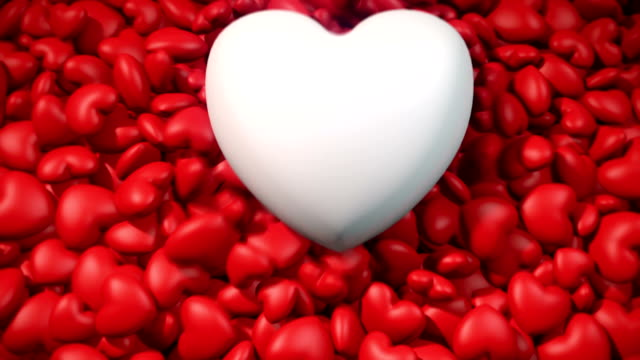 Red and White Hearts video
