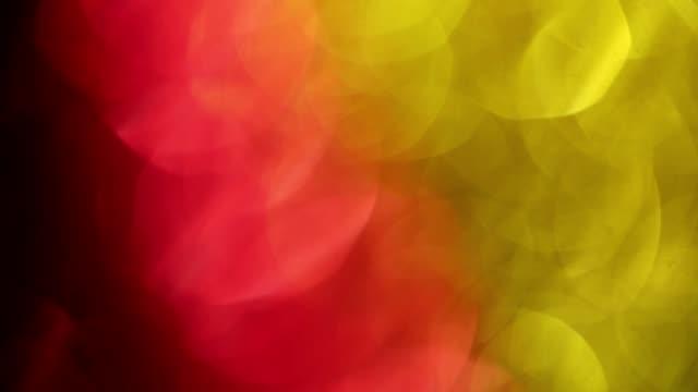 stockvideo's en b-roll-footage met rood en geel licht lekken, dromerige zachte bokeh beweegt snel - sleeping illustration