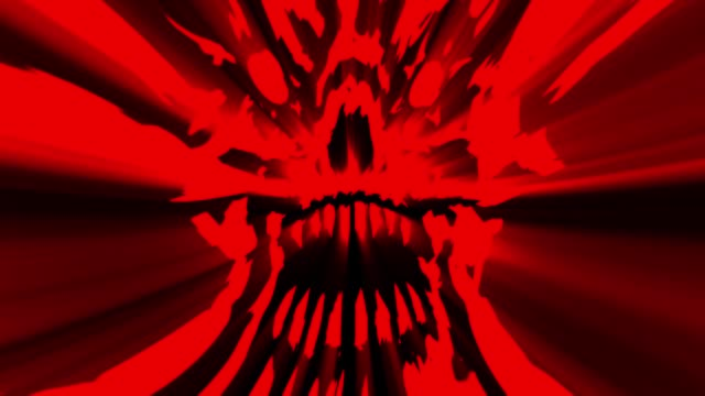 Red angry vampire skull animation. Red angry vampire skull animation. Genre of horror. Scary monster face. States of mind. skull stock videos & royalty-free footage