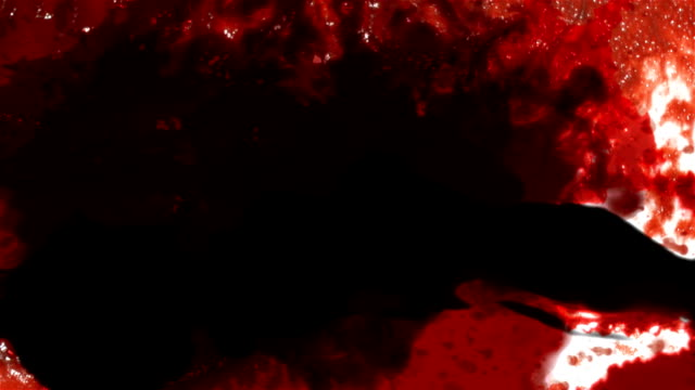 Red Blood Transition video
