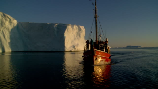 red boat against white ice part 5 video