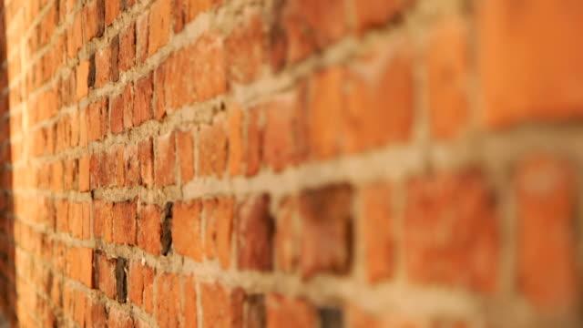 Red brick wall grunge texture