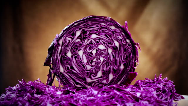 Red Cabbage Time-Lapse video