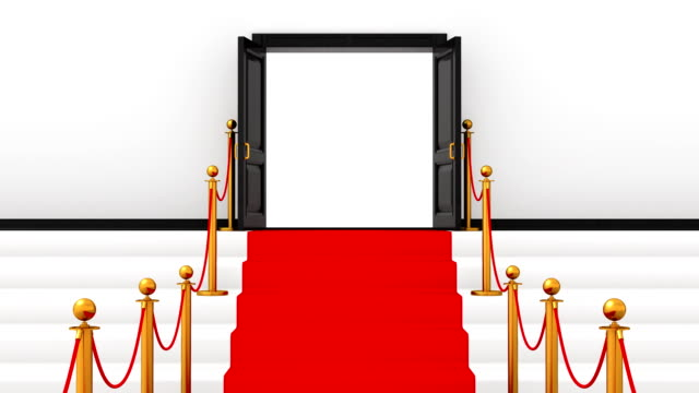 Red Carpet - Alpha Channel video