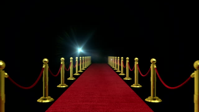 Red Carpet - Path to Fame Loop video