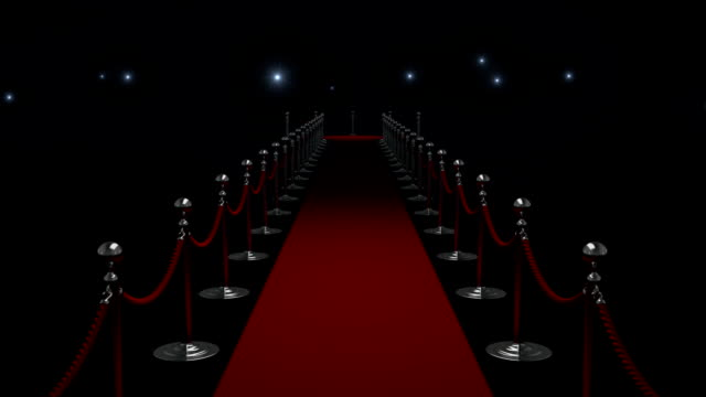 Red Carpet Red Carpet animation with paparazzi camera flashes brightly lit stock videos & royalty-free footage