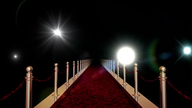 vídeos de stock, filmes e b-roll de tapete vermelho - eventos de gala