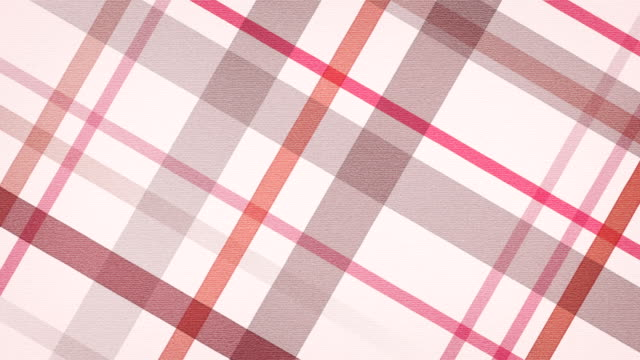 red checked fabric loopable background red checked fabric. computer generated seamless loop abstract motion background. HD 1080 progressive plaid stock videos & royalty-free footage