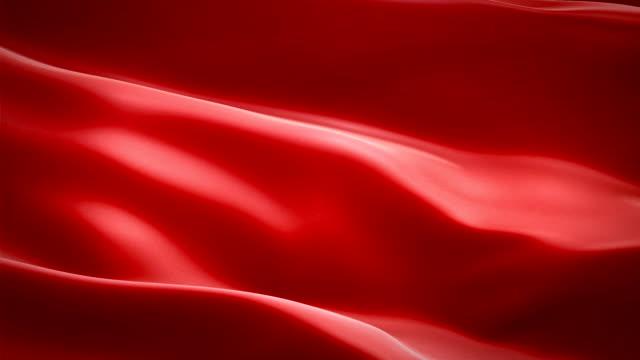 röd färgade glansigt tyg tyg textil satin bakgrund sömlös loop vinkar animering - red silk bildbanksvideor och videomaterial från bakom kulisserna