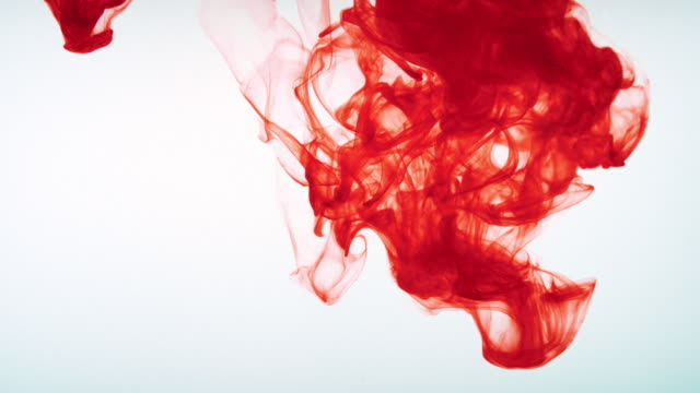 SLO MO LD Red colour dissolving in water