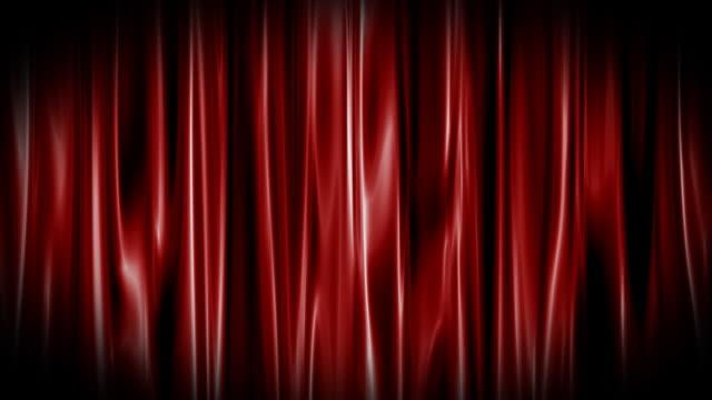 Red Curtain Loop video