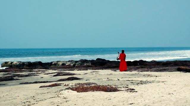 Red dress video